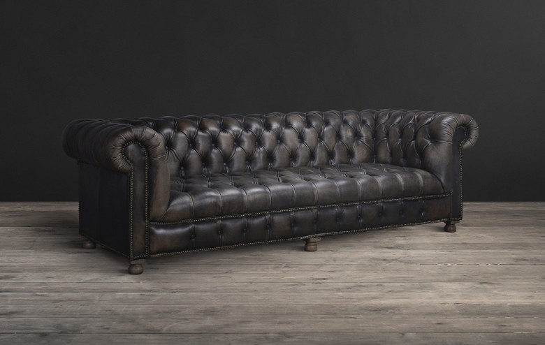 Leather Fabric Sofas Furniture Timothy Oulton Grey Leather 2 Seater Chesterfield  Sofa Dark Grey Leather Chesterfield